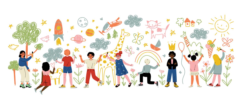 illustration - dessins enfants - medecins de l'imaginaire
